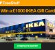 Win £1000 to Spend at IKEA