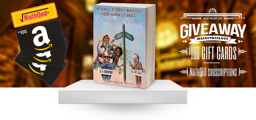 """Iris Mack, Author of """"A Wall Street Bailout for Main Street"""", Announces Massive Giveaway"""